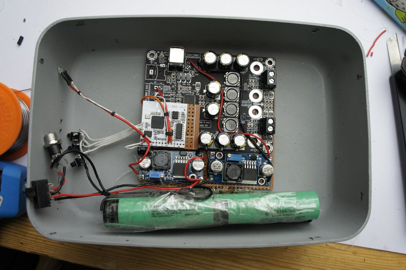 Parts Needed for Portable Speakers: