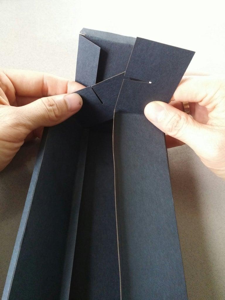 Fold the Box Bottom