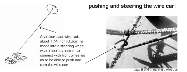 Steering Wheel Push Stick