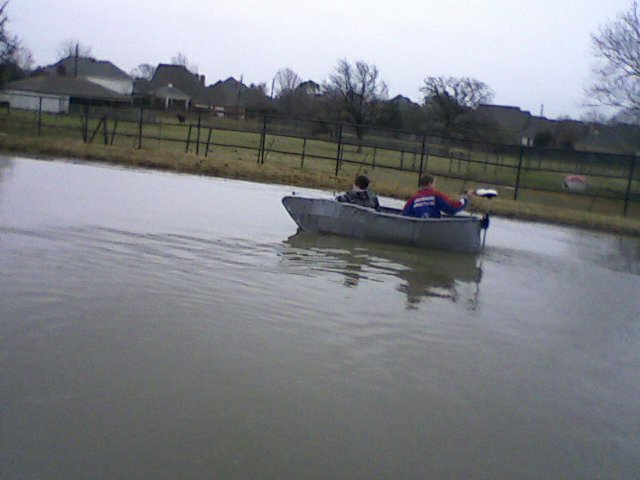 Duct Tape Boat!