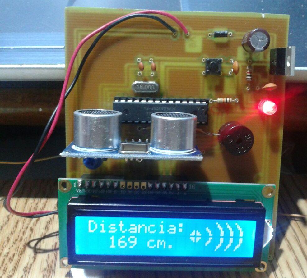 Animated Sonic Ruler / Parking Sensor using Arduino