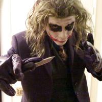 Dark Knight Joker Makeup