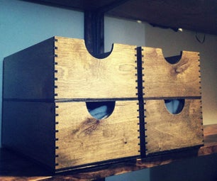 Forget Plastic! - Stackable Wooden Boxes