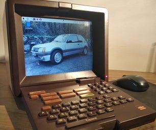 Old School Minitel Laptop