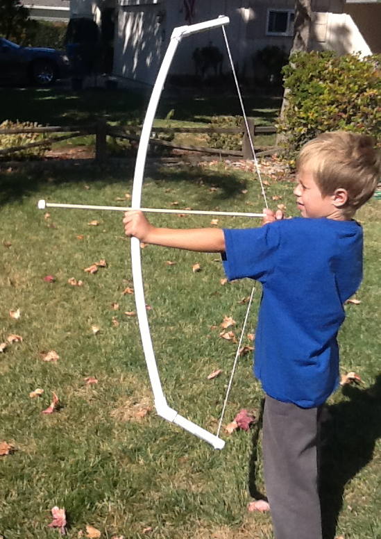 Quality bow and arrow gift for kids--cheap, sturdy and fast
