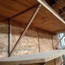Simple shelving brackets