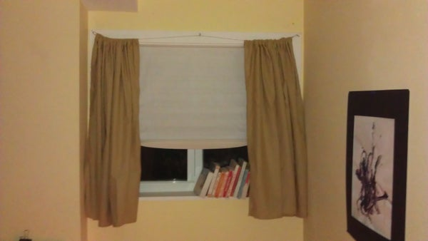 Cable Curtain Rod