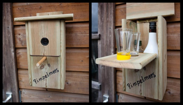 Building Secret 'drinking' Nest Box