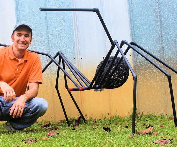 The Huge Black Spider