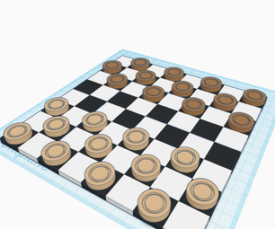 How to Make a Checkerboard Set in 3 Easy Steps With TinkerCad