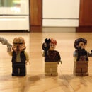 Three Epic Star Wars Minifigures (Custom Made!)