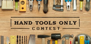 Hand Tools Only Contest 2017