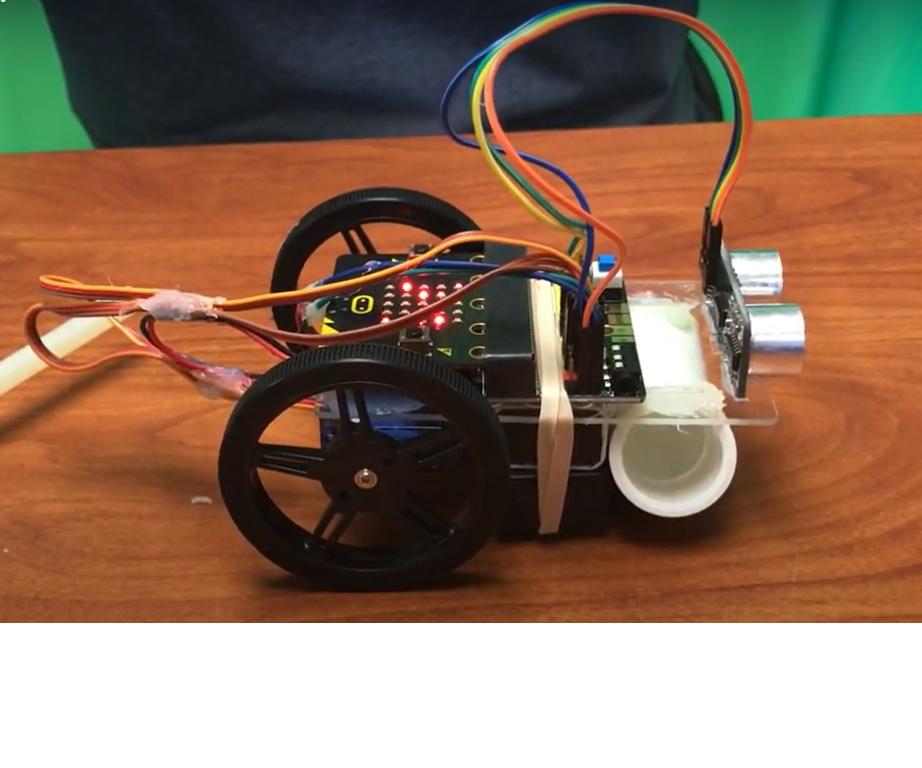 Walter the Robot - Sonar Bot - Micro:Bit