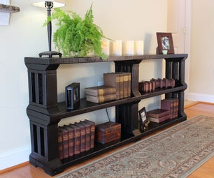 Rustic Book Shelf or TV Stand