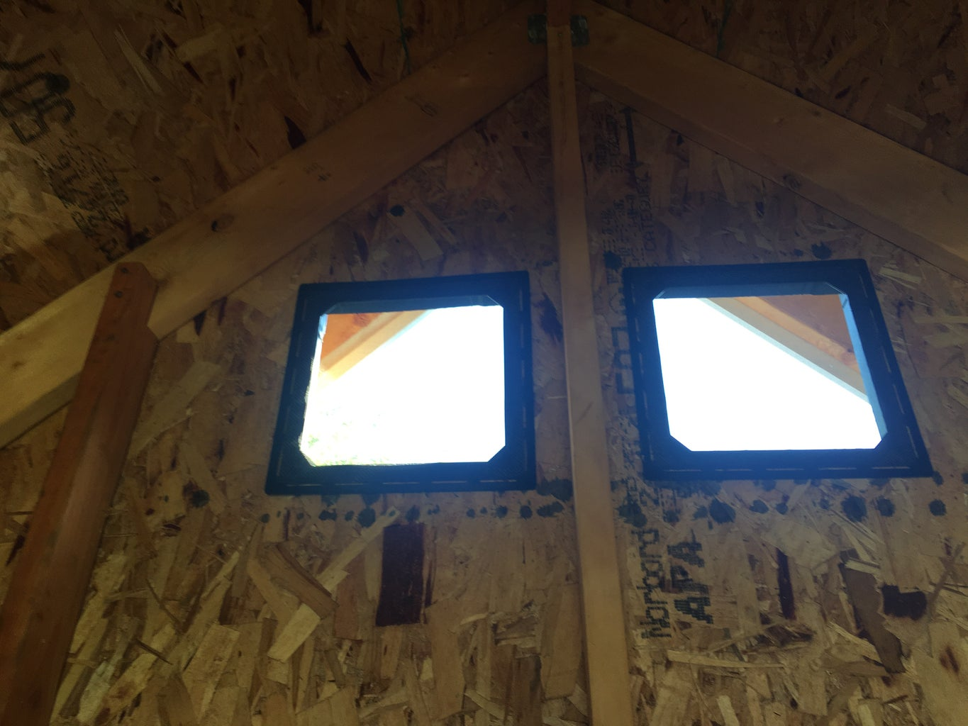 Installing the Back Wall Vents