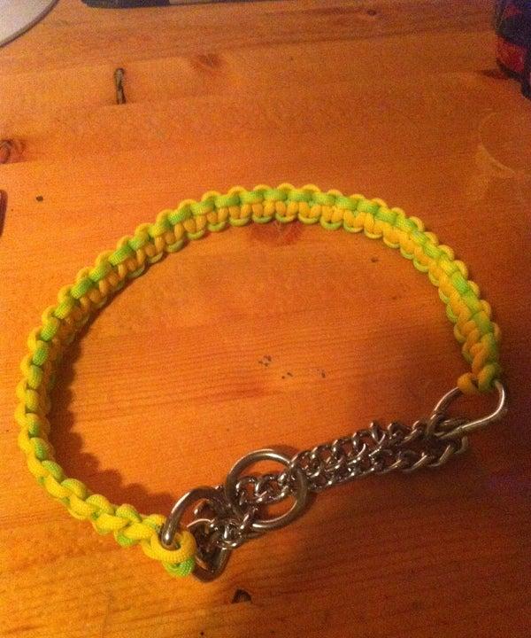 Make a Paracord Dog Collar
