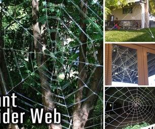 Different Ways to Make Spiderwebs