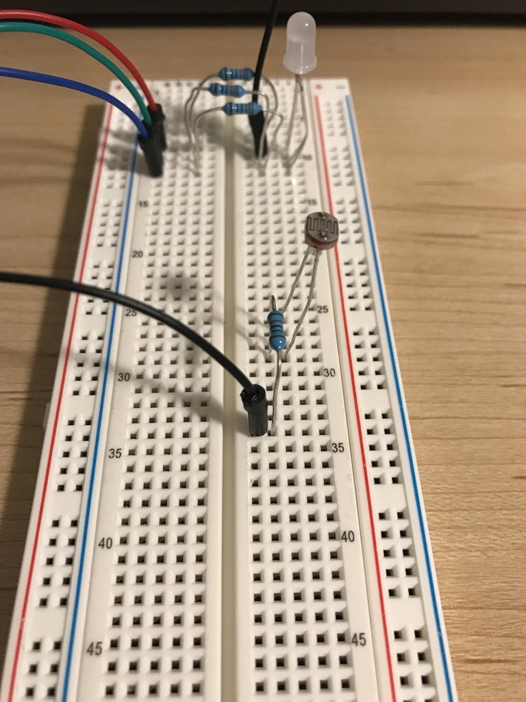 Connect Photocell to Arduino