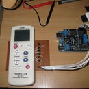 Build a transistor circuit board for controlling Air Conditioner remote control with Arduino