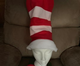 Cat in the Hat Hat and Bowtie