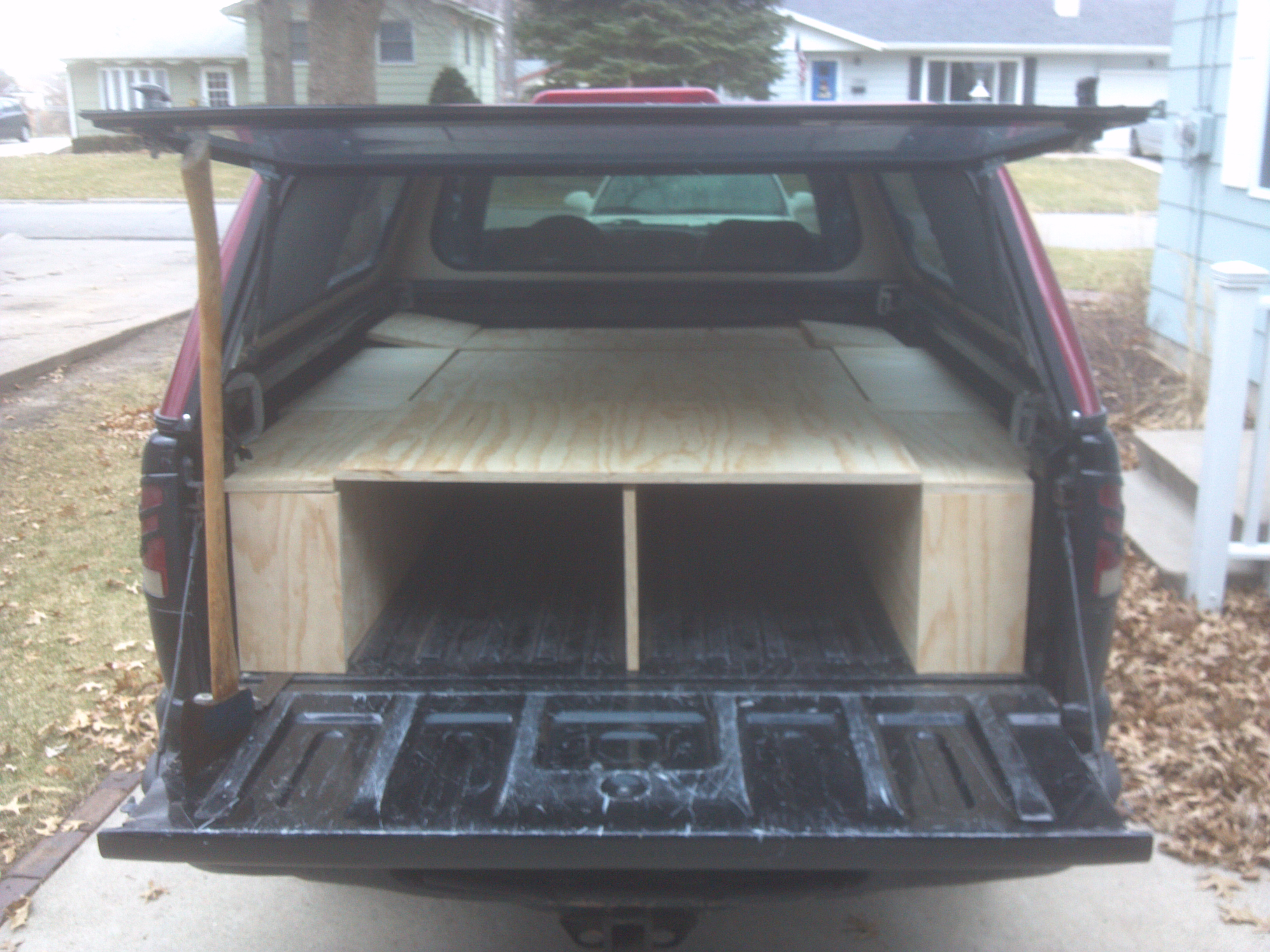 Convert Your Truck Into A Camper 6 Steps With Pictures Instructables