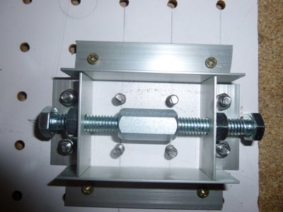 Homemade CNC Nut With Thermo Moldable Plastic Enclosure