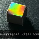 Holographic Paper Cube