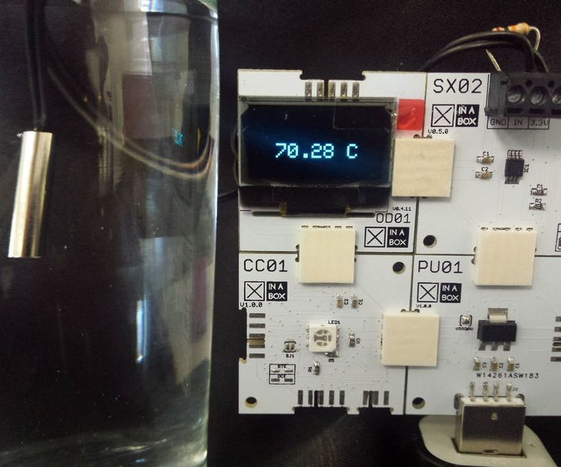 Temperature Measurement Using XinaBox and a Thermistor