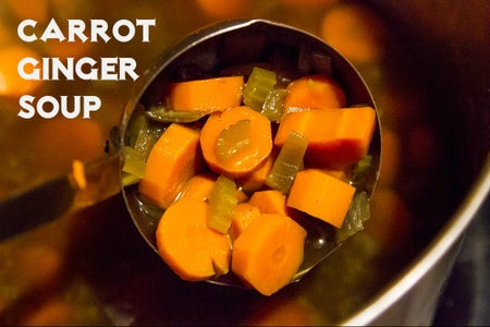 Carrot Ginger Soup - Hot or Cold!