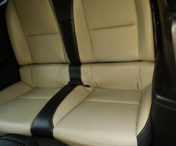 Instalation of Convertible Camaro Rear Seat Covers