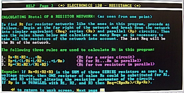 General Rules - Resistance Network