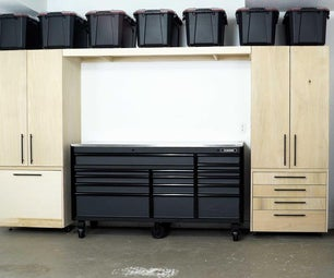 DIY GARAGE CABINETS AND ORGANIZATION SOLUTIONS