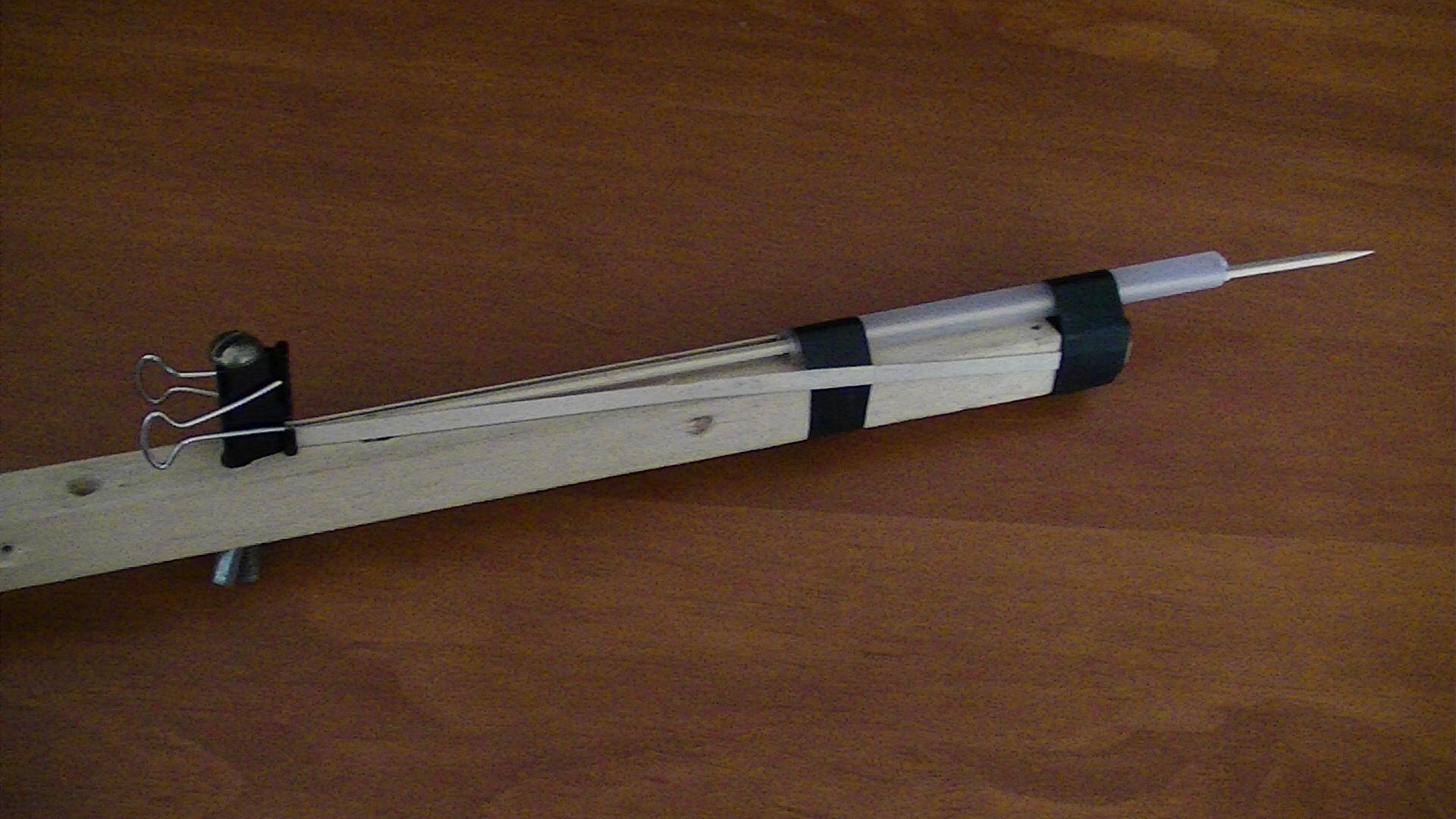 Skewer gun