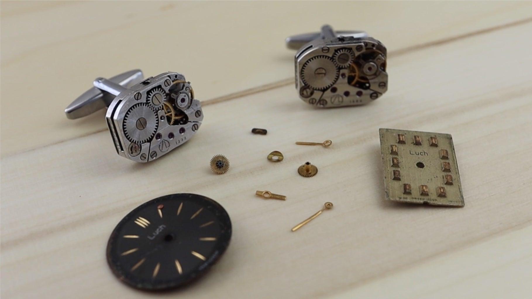 Make Your Own Watch Movement Cufflinks