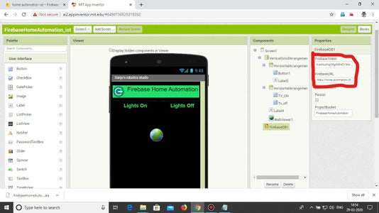 Configuration of the App