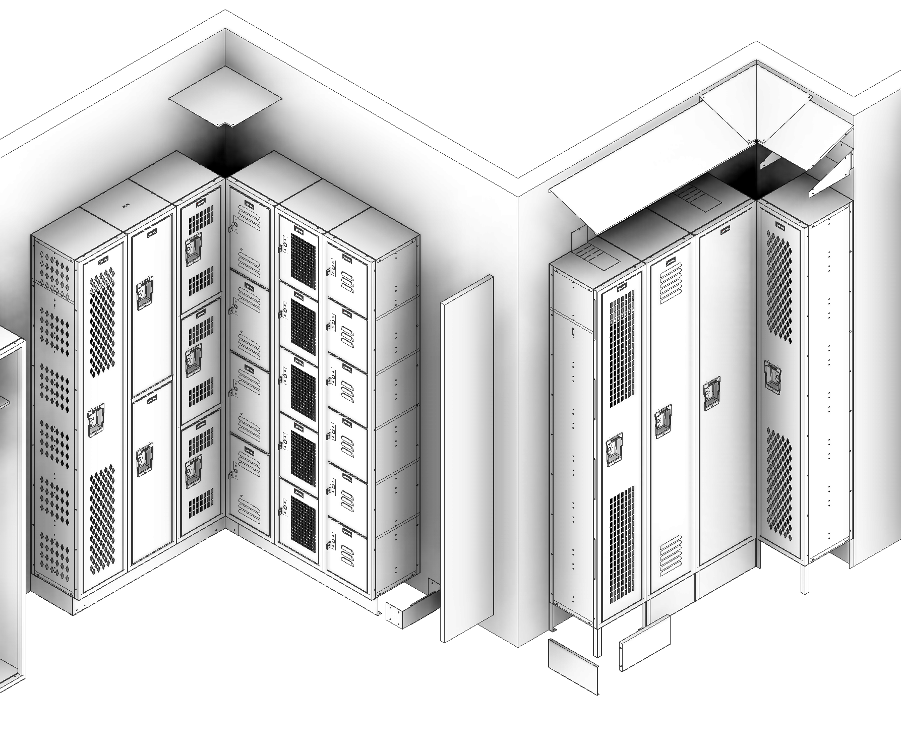 How to Assemble a Locker