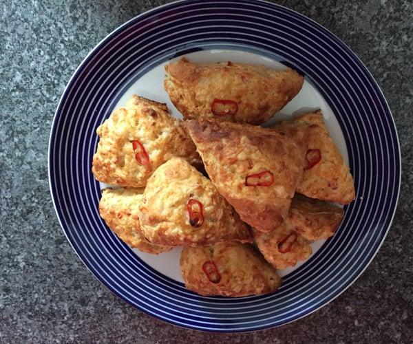 Chilli Cheese Scones