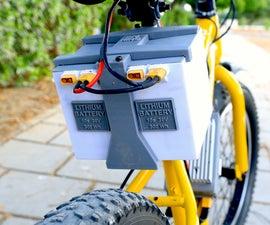 用于电子自行车的定制锂电池组
