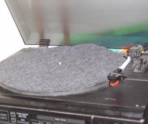 DIY Soft-felt Record Platter-mat