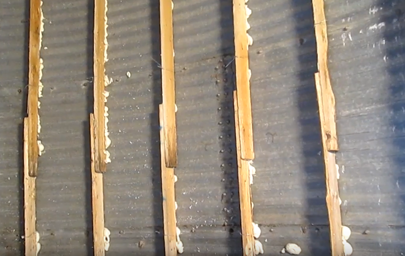 Pallet Studs, Paneling, and Foam