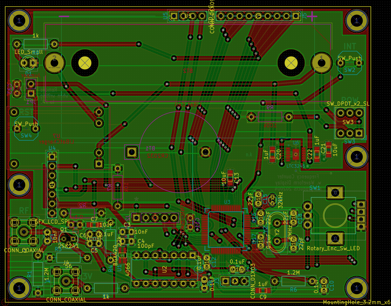 """Draw the Pattern With """"kicad - Pcbnew"""""""