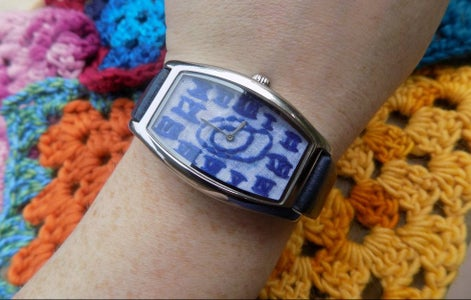 Embroidered Watch
