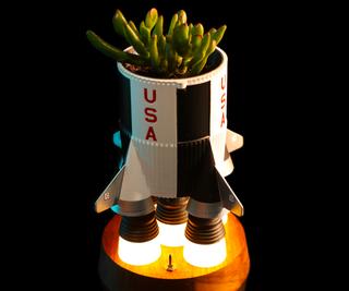 Rocket Planter