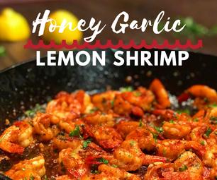 How to Make Honey Garlic Lemon Shrimp