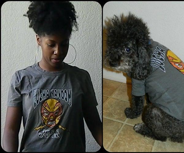 Transform Your T-shirt Into a Dog Tshirt