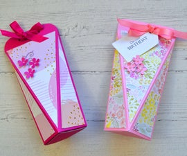 How to Make a Candy Box | Paper Craft #WithMe