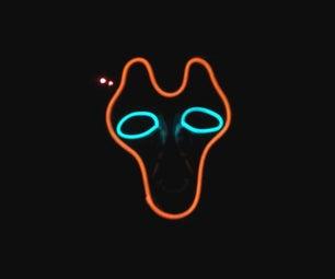 Electro-Luminescent Mask