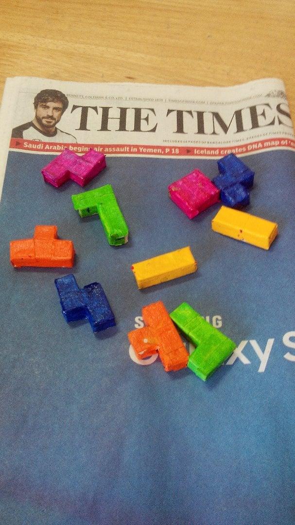 Colouring the Blocks!