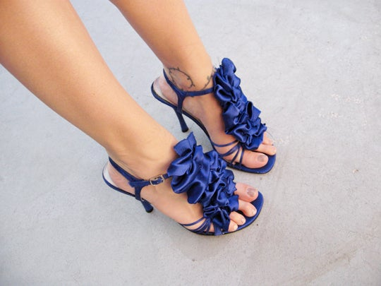 How to Make Removable Ruffles for Your Shoes