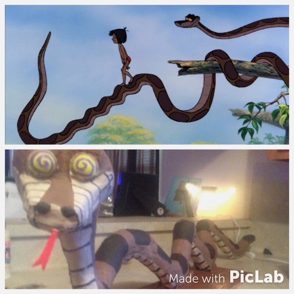 How to Make Your Very Own Kaa From the Jungle Book